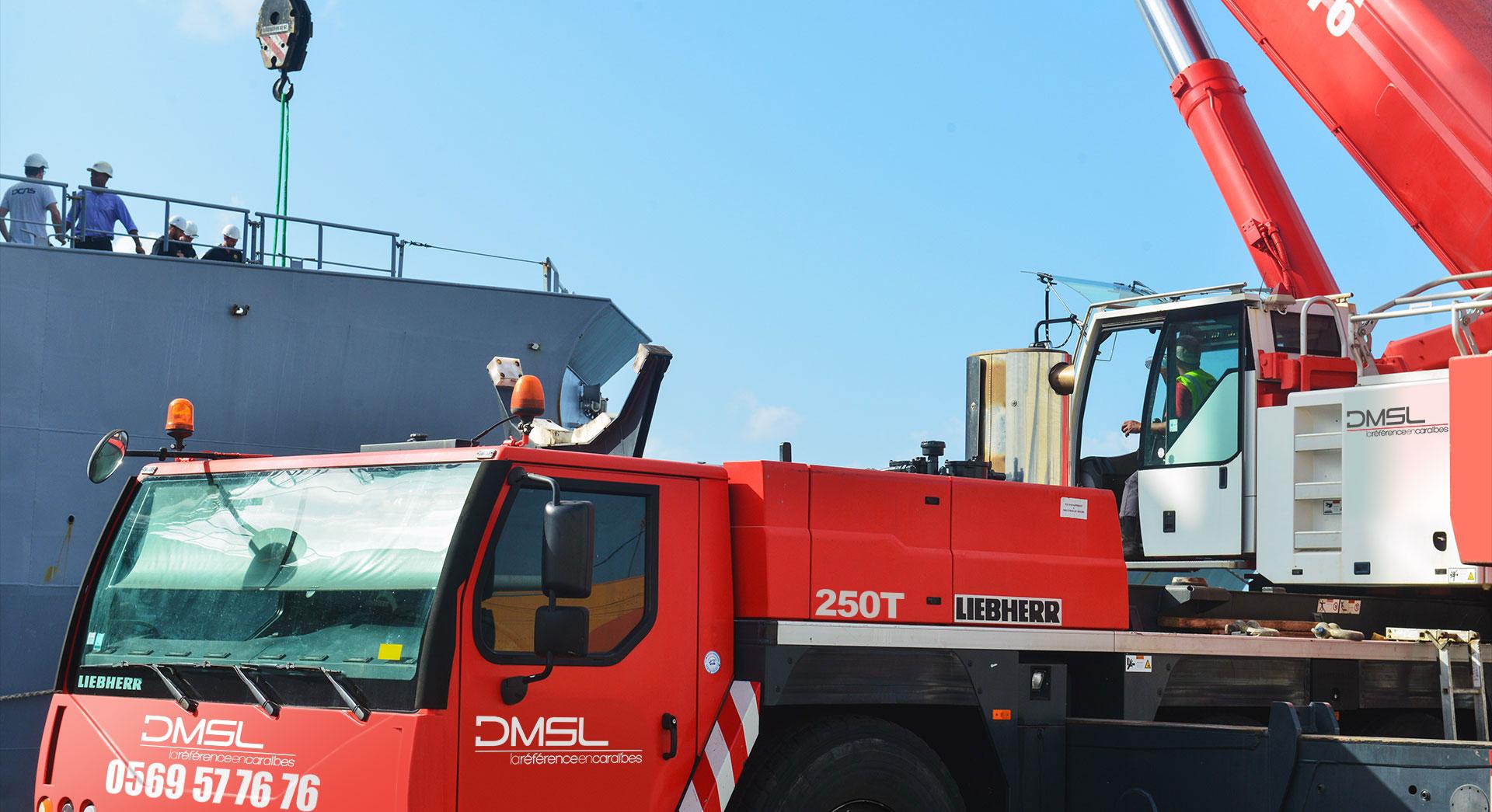 Grue de 250 tonnes